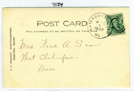Postal History: united states, maine (Page 75)