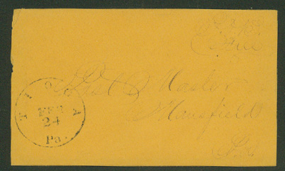 Postal History: stampless cover, united states (Page 263)