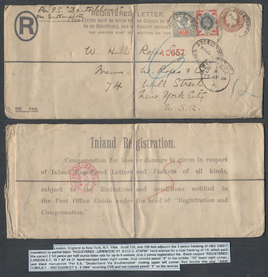 Postal History Search Results Page