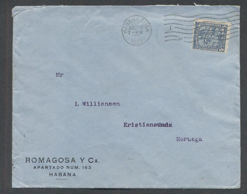 Postal History: Trans-Atlantic (Page 2)