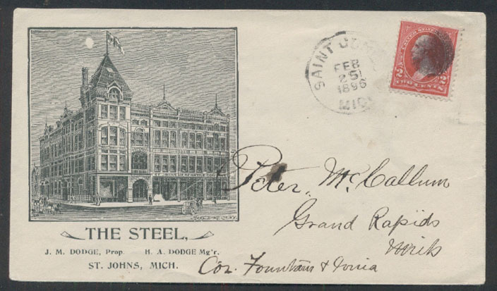 Postal History Advertising United States Page 31
